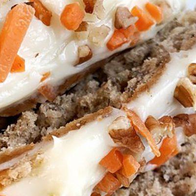 Sweet Tea Carrot Cake Banana Bread