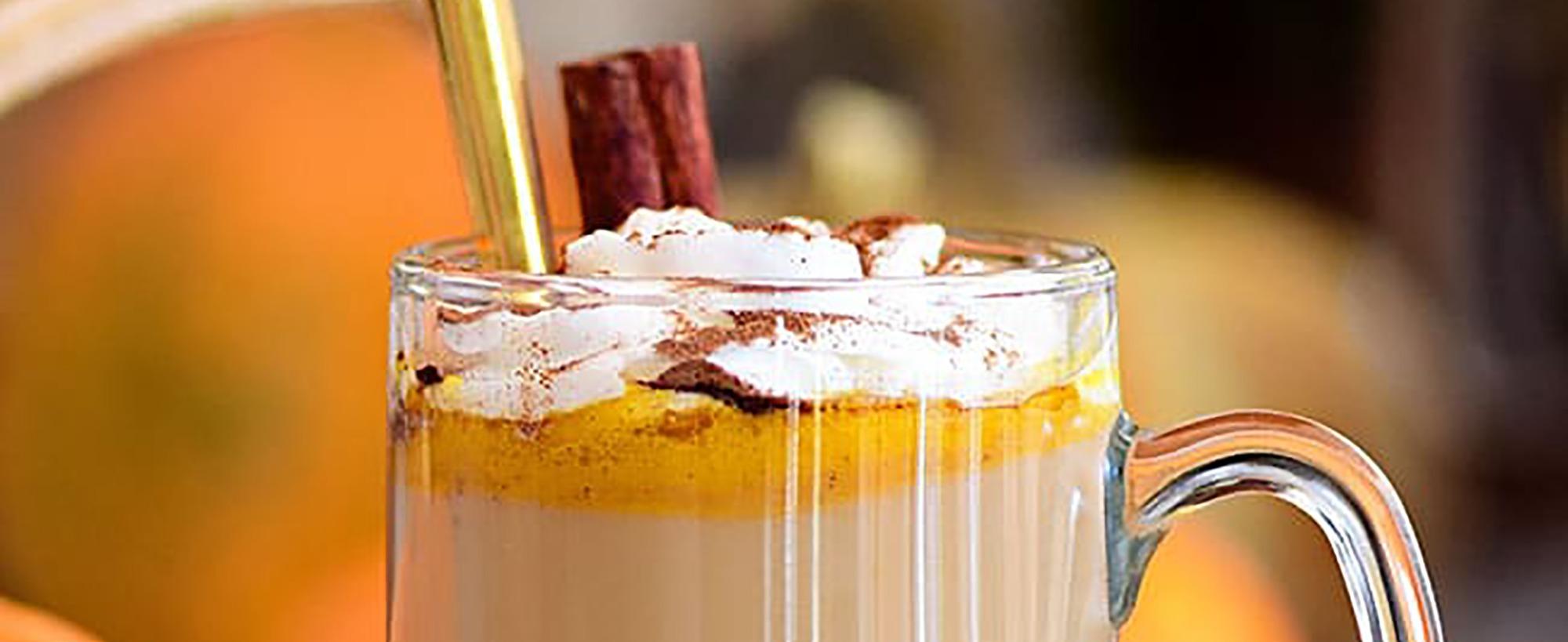 Pumpkin Spice Hot Buttered Rum