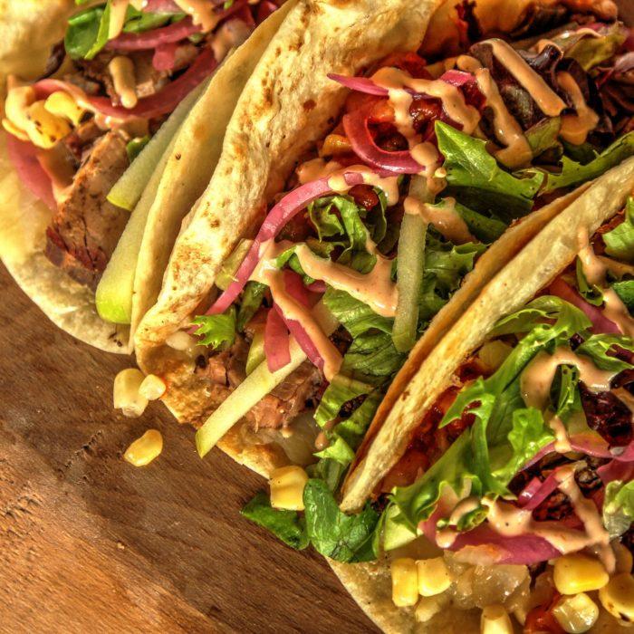 6-Ingredient Milo's Famous Sweet Tea Brisket Tacos
