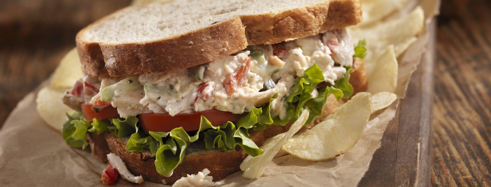 Balsamic Cream Cheese Chicken Salad