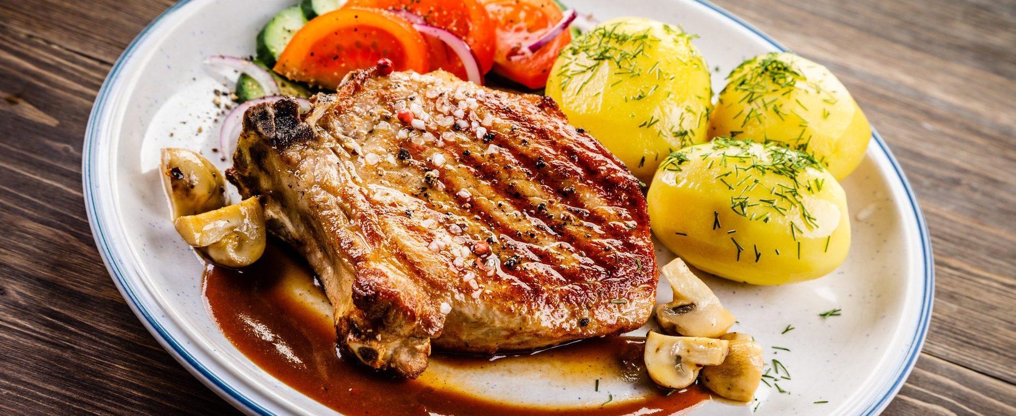 Slow Cooker Milo's Famous Sweet Tea Pork Chops and Gravy
