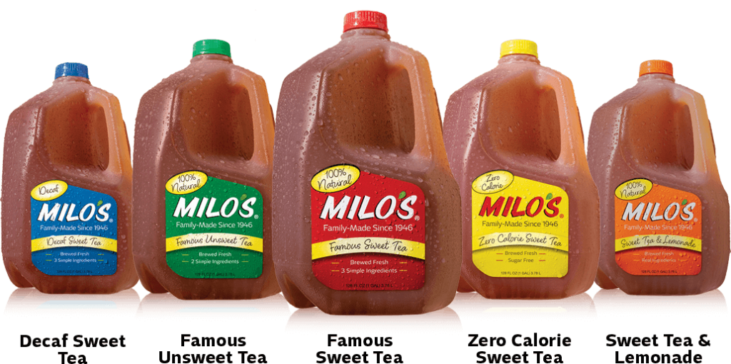 Milo's Tea Products